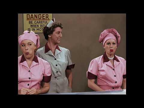 "I Love Lucy: A Colorized Celebration - ""Job Switching"" clip"