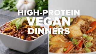 High-Protein Vegan Dinners • Tasty by Tasty