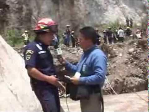 ACCIDENTE DE AUTOBUS EN CHIMALTENANGO, GUATEMALA - REPORTAJES ESPECIALES PARTE 3