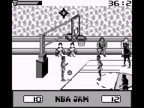 NBA in the Zone 2000 Game Boy