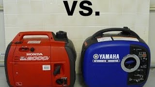 10. Honda EU2000i vs. Yamaha EF2000is Sound comparison