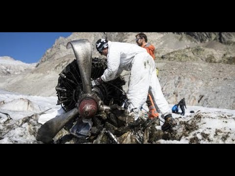 Schweiz: Gletscher gibt Unglücksflieger nach 72 Jahren frei