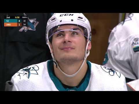 Video: San Jose Sharks vs Anaheim Ducks | NHL | OCT-28-2018 | 20:00 EST