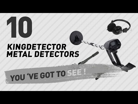 Kingdetector Metal Detectors // New & Popular 2017
