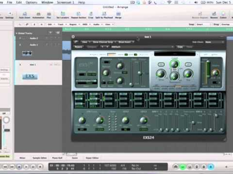 sample - How to sample in Logic Pro 9.