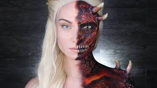 Daenerys Dragon Tutorial | Game of Thrones | Mother of Dragons by Madeyewlook