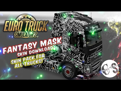 Fantasy Mask Skin Pack for All Trucks