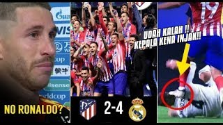 Video What Happened With Sergio Ramos And The Reaction Of Madrid Players After Losing From Atletico MP3, 3GP, MP4, WEBM, AVI, FLV September 2018