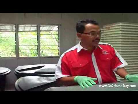 Nata De Coco Factory in Selangor Homestay
