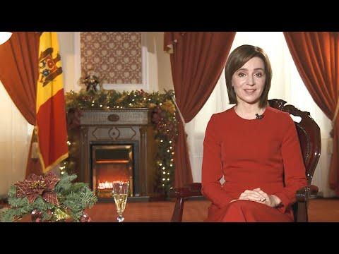 Новогоднее обращение Президента Республики Молдова, г-жи Майи Санду