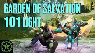 Can You Survive the Garden of Salvation at 100 Light? by Let's Play