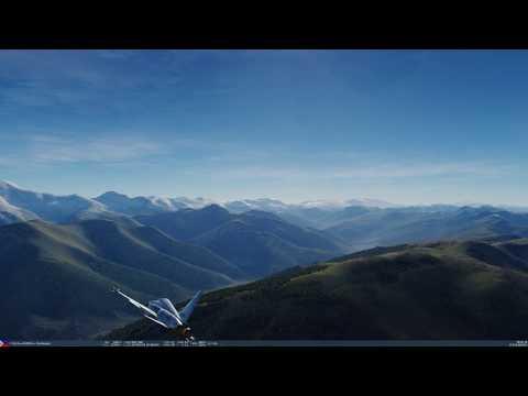 DCS World. StarVenger in a Northrop...