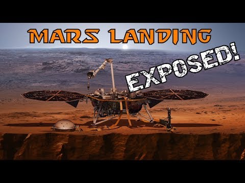 Mars Landing EXPOSED - NASA Insight Probe 100% FAKE_Best spacecraft videos of the week