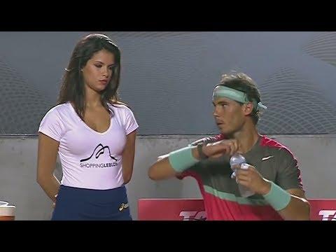 Funny Fail Compilation - HOT GIRL Of Rafael Nadal - News Bloopers ( Full HD )