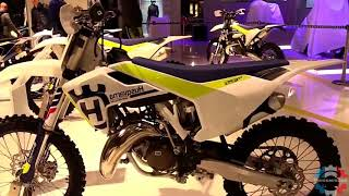 7. 2017 Husqvarna TC 125 Walkaround Review Engine Specifications Details and Colors