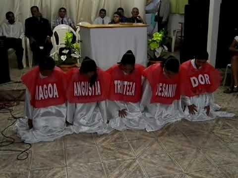 Assembleia de Deus em Lagoa do Barro do Piaui-PI peça soldado ferido.MP4