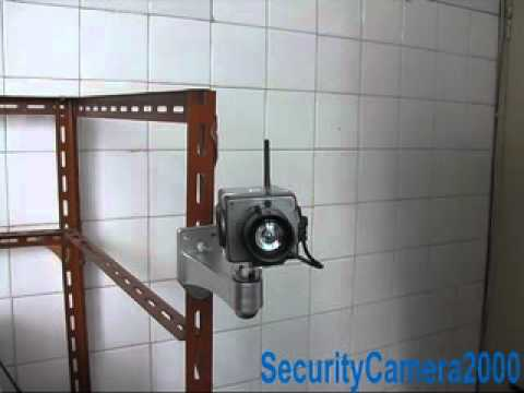 Realistic Activation Movement Dummy Security CCTV Camera from SecurityCamera2000.com