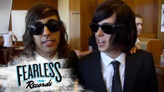 """Pierce The Veil - Behind The Scenes of """"King For A Day"""""""