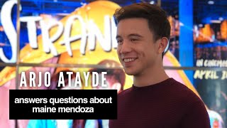 Arjo Atayde Answers Questions About Maine Mendoza at the #StrandedMediacon