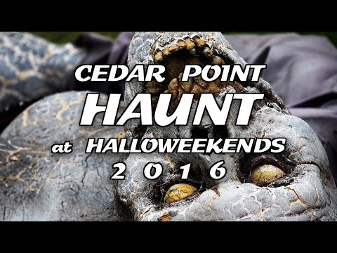 Cedar Point HAUNT at HalloWeekends 2016 (видео)