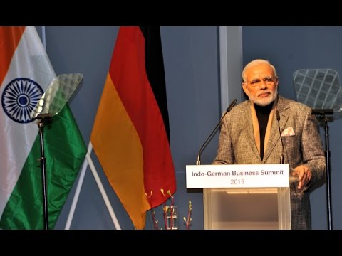 PM Modi's speech at Indo-German Business Summit in Hannover