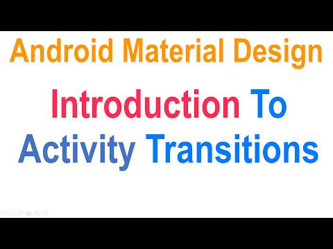 Android Activity Transition: Material Design Tutorials [HD…