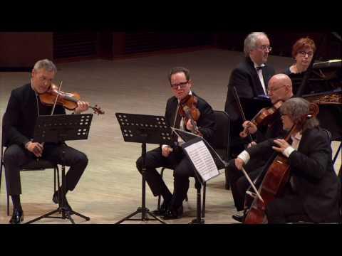 Johannes Brahms - Piano Quintet in F minor, Op. 34, - IV Finale видео