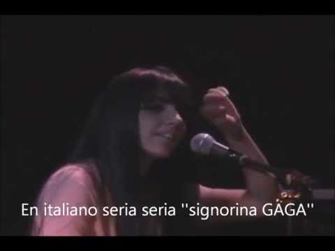 Stefani Germanotta (Lady Gaga) live Wonderful