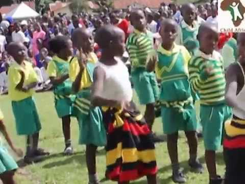 Child Africa children are good in song and dance, a way of building the children's self-confidence