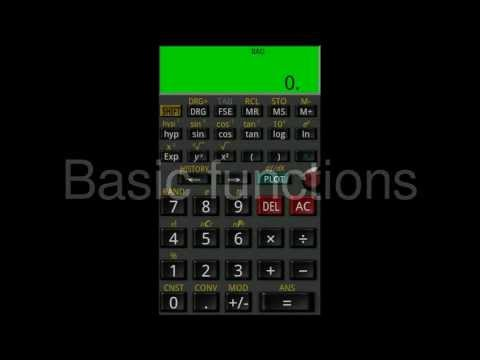 Video of Mathex Scientific Calculator