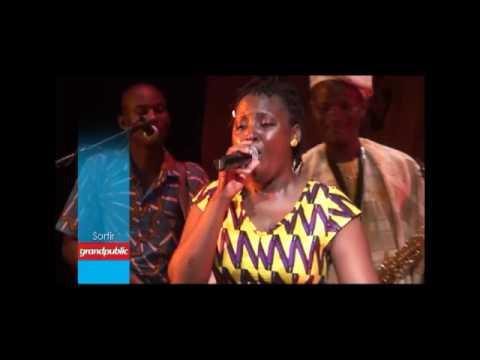 Koudi en concert à l'Institut Français de Cotonou