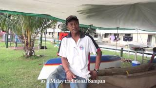 An interview with Fidal about the Malay Sampan Project on Christmas Island Footage by Jason Turl www.wildsideaustralia.com.au.
