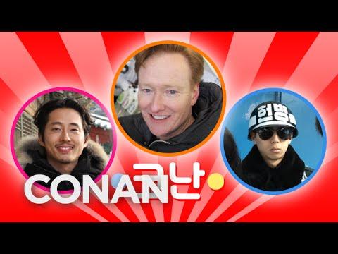 Conan v Koreji #5: Vysílání z KLDR a hudební videoklip