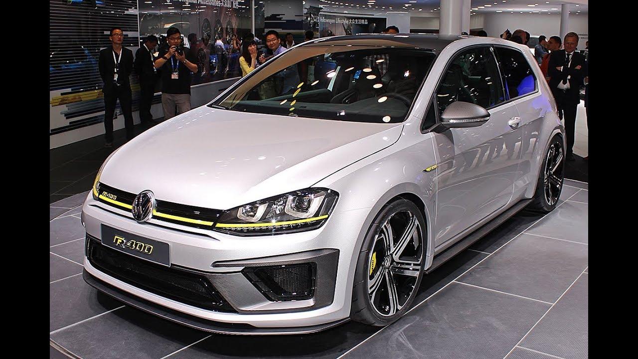 VW Golf R 400 – Peking Auto Show 2014
