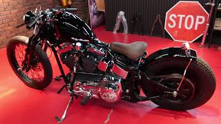 2002年 FLSTF Black Chopper Style