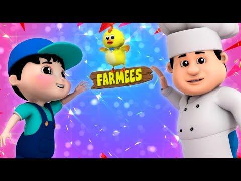 Pat A Cake Pat A Cake Baker's Man | Nursery Rhymes | Children Songs | Baby Rhymes by Farmees