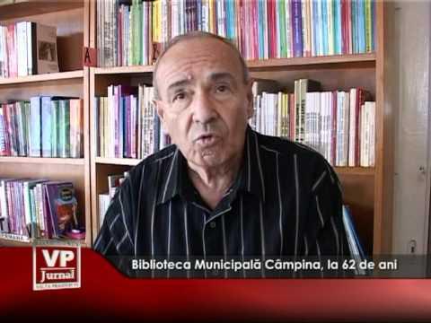 Biblioteca Municipală Câmpina, la 62 de ani