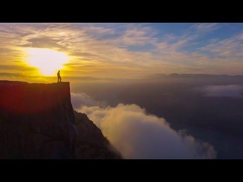 Sirdal i bilder: Dronefilm fra Preikestolen