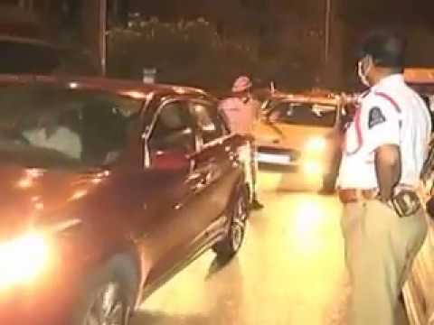 Man scolds police in Hyderabad