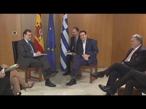 Με τον Μαριάνο Ραχόι συναντήθηκε ο πρωθυπουργός Αλέξης Τσίπρας