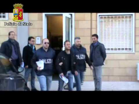Blitz antidroga a Gela Il video degli arresti