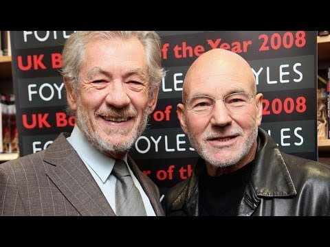 stewart - Patrick Stewart & Ian McKellen Talk X-MEN: DOFP Subscribe to ClevverMovies: http://bit.ly/clevvermovies Ian McKellen and Patrick Stewart talk about their you...