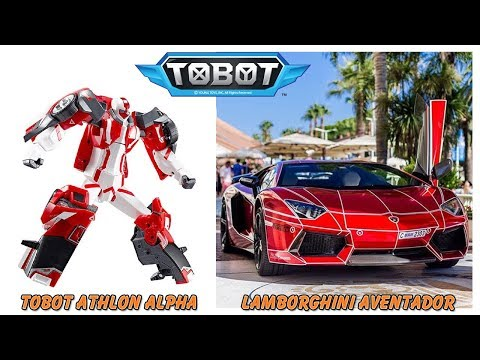 Tobot Characters in Real Life