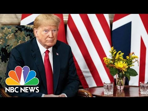 President Donald Trump Meets Queen Elizabeth II | NBC News
