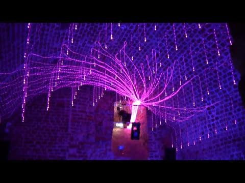 Zestaw Kryształowe Kule - Lampy Światłowodowe, oświetlenie dyskotekowe, lampy dyskotekowe, dekoracje dyskotek, klubów, pubów