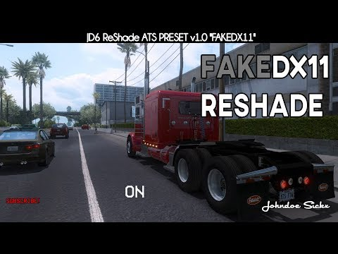 ATS – Johndoe Sickx ReShade v1.0 – FAKEDX11