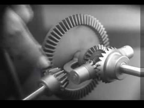 Gears - An excellent tutorial from the 1930's on the principles and development of the Differential Gear. Fast Forward to 1:50 if you want to skip the intro.