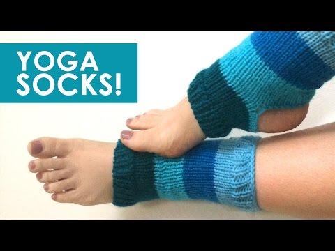 How to Knit YOGA SOCKS: Easy for Beginning Knitters
