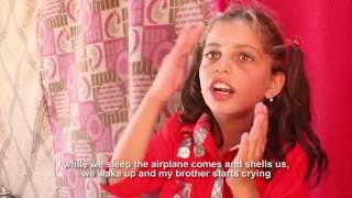 Abid Mahi with Children In Deen Interview's Child from Syria refugee camp. (PT.2)