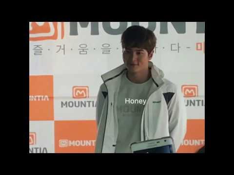 Joowon mountia fansign at daegu 2017 (видео)